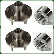 2 FRONT WHEEL HUB & 2 BEARING FOR SUZUKI SX4 2WD 2007 - 2013 LEFT & RIGHT NEW