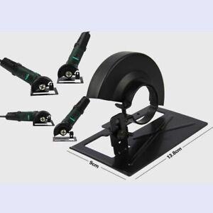 Angle Grinder Bracket Stand Holder Support Base W/ Cover Set Adjustable Metal