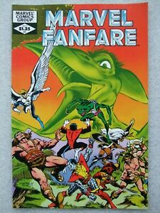Marvel Fanfare  #3  featuring X-Men and Hawkeye.  NM