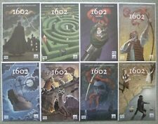 1602 #1-8 SET..NEIL GAIMAN/ANDY KUBERT..MARVEL 2004 1ST PRINT..VFN+