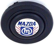 Véritable Raid Volant Corne Bouton Poussoir Pour Mazda. vieux logo, vintage, rare!
