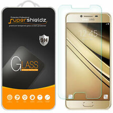 3X Supershieldz Samsung Galaxy C7 Tempered Glass Screen Protector Saver