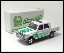 TOMICA TOYOTA LAND CRUISER DUBAI POLICE CAR 1/71 TOMY Off Road 103 Creation