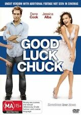 GOOD LUCK CHUCK   DVD  R4   DANE COOK, JESSICA ALBA