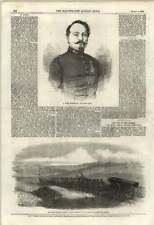 1855 M Minie Rifle Inventor Siege Gun Chapmans Battery Naval Brigade