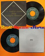 LP 45 7'' TUNY D'ANGELO LA TRAGICA STORIA DELLA FAMIGLIA KENNEDY italy cd mc dvd