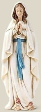 """SALE! New 6"""" Our Lady of Lourdes Blessed Virgin Mary Marian Statue Figurine"""