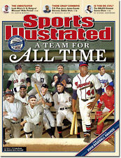 October 9, 2006 Babe Ruth Hank Aaron All Time Team SPORTS ILLUSTRATED NO LABEL A