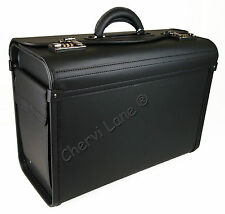 New Ocello High Quality Pilot Business Travel Work Flight Bag Case Briefcase