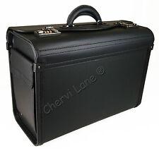 Nuevos negocios Negro Ejecutivo portátil de viaje de trabajo de Vuelo Piloto bolsa caso maletín