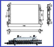 Radiateur d'eau Skoda Fabia 1.2 TDi - 1.2 TSi DSG