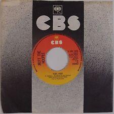 MOTT THE HOOPLE: Foxy, Foxy UK CBS Orig Rock 45 w/ Sleeve