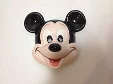 Mickey Mouse Walt Disney Wall Mask Plaque Ceramic Porcelain Made in Japan