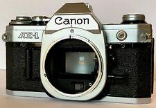 CANON AE1 reflex pellicola analogica solo corpo silver