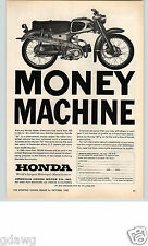 1962 PAPER AD Honda Motorcycle 50 Dealer Selling Information Mail In Coupon