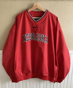 Primer ministro capacidad Peculiar  Nike Nebraska Cornhuskers NCAA Jackets for sale | eBay