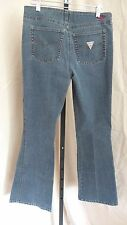 GUESS JEANS MEDIUM BLUE JEANS STRETCH BOOTCUT SIZE 28