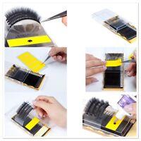 Black Feather individual eyelash extensions lightest lash C curl 0.10 mix