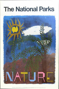 Ben SHAHN National Park Service Nature 1974 Poster 42 x 28