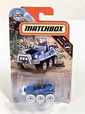 Blue ATV 6x6 NA28 2018 Matchbox M Case