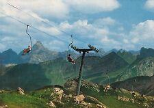 Nebelhorn-Sessellift mit Hochvogel ,  Ansichtskarte