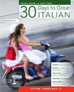 30 Days to Great Italian 30 Days Ana Stojanovic