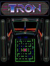 """TIN SIGN """"Tron """"  Arcade Video Game Wall Decor"""