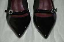 M&S Collezione Donna Nero Scarpe Tacco Alto Misura 4.5 - MOLTO BUONE CONDIZIONI