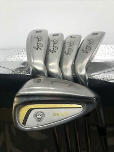 John Daly Iron Set Gold Golf Clubs 6-P RH