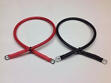 500mm Battery Link Leads 8mm to 8mm Ring Terminals 16mm2 110amp Cable