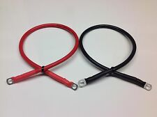 300mm Battery Link Leads 10mm to 10mm Ring Terminals 16mm2 110amp Cable