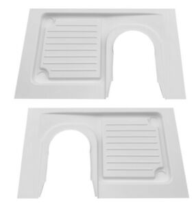 Left Hand or Right Hand Shower Tray, for Campervan Thetford C223 & C224 Toilets