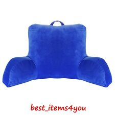 Bed Rest Pillow Home Cushion Read Watch TV Soft Back Arm Support Durable Lounge