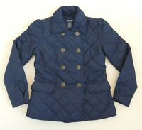 NWT Girl Ralph Lauren Kids RL Luxury Snap-Down Quilted Barn Jacket Coat L 12 14