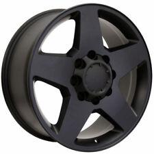 20x8.5 Rims Fits HD GM 1999-2010 Truck 8 Lug 2500 Black Wheels 5503 GMC Chevy
