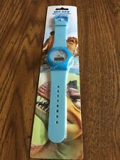 New Ice Age Dawn of the Dinosaurs Digital Watch - Rare - NIP Blue