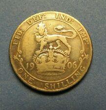 1906 Edward VII Coin – 1 Shilling