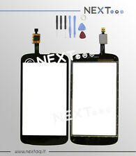 Touch screen per schermo display biadesivo LG Nexus 4 + kit