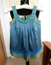 Monsoon Girls Formal Party Vest Top size age 10/11 year