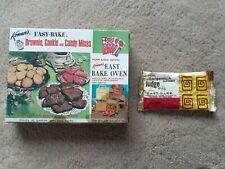 VINTAGE 1966 KENNER EASY BAKE OVEN COMBO BOX W/ ORIGINAL BUTTERSCOTCH FUDGE MIX
