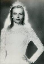 MERETH VAN CAMP  PRINCESSE DAISY  1980 VINTAGE PHOTO