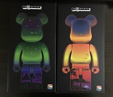 Bearbrick 400% Great Slave Lake & Diamond Head