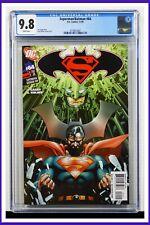 Superman Batman #64 CGC Graded 9.8 DC November 2009 White Pages Comic Book