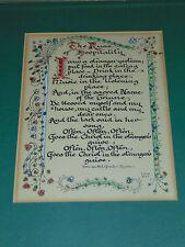 Irish Gaelic Saying Proverb Rune Text Calligraphy Beautiful Decor