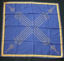 Vintage CONCORDE Blue Angels Formation Scarf