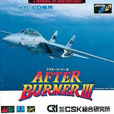 After Burner SEGA Mega Drive CD ROM MCD Japan  GENESIS After Burner  3