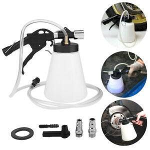 Pneumatic Brake & Clutch Fluid Bleeder One Man Vacuum Kit 1Ltr Car Tool