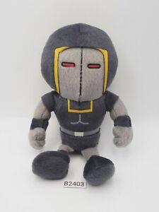"Kinnikuman B2403 Panson Works Warsman Plush 6"" Stuffed Beanie Toy Doll Japan"