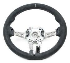 BMW OEM M4 GTS CS Alcantara White Line Steering Wheel M3 M4 F80 F82 F83 F87