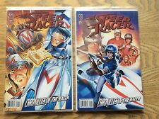 Speed Racer Comics #1 Covers A and B! Look